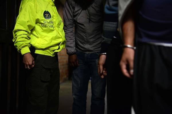 Capturados Policía Metropolitana del Valle de Aburrá