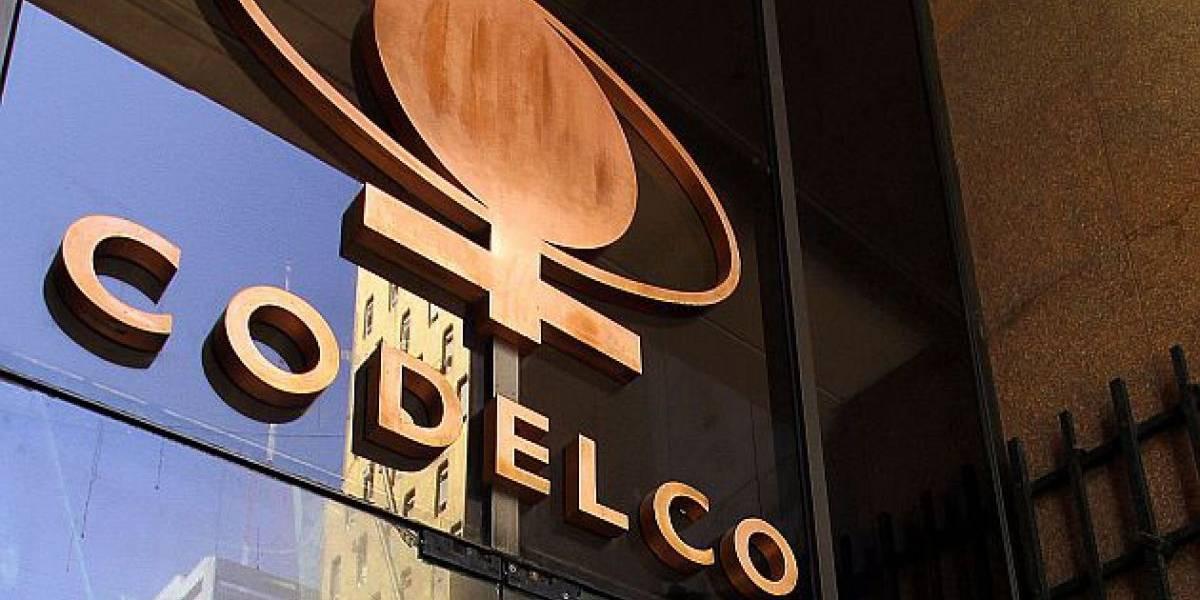 Excedentes de Codelco gana más de US$ 1.600 millones en enero-septiembre