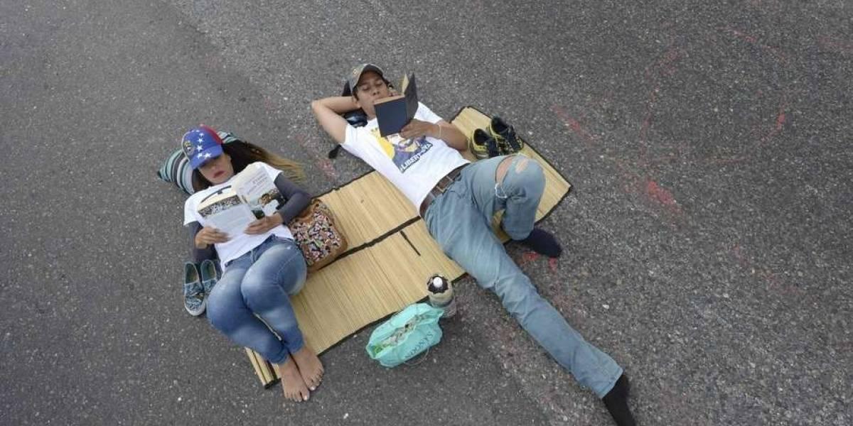 """Oposición venezolana no da tregua: protestan con """"gran plantón"""" en varias ciudades del país"""
