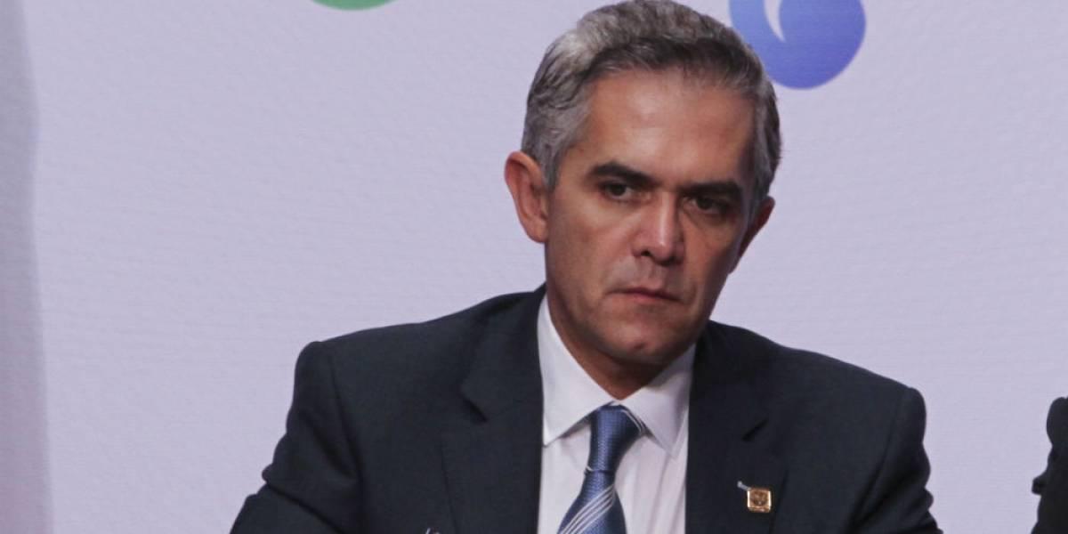 Mancera pide no politizar conflicto laboral del Metro