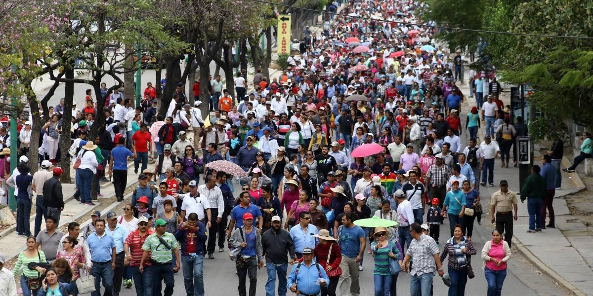Maestros de la CNTE marcharán en 9 estados del país