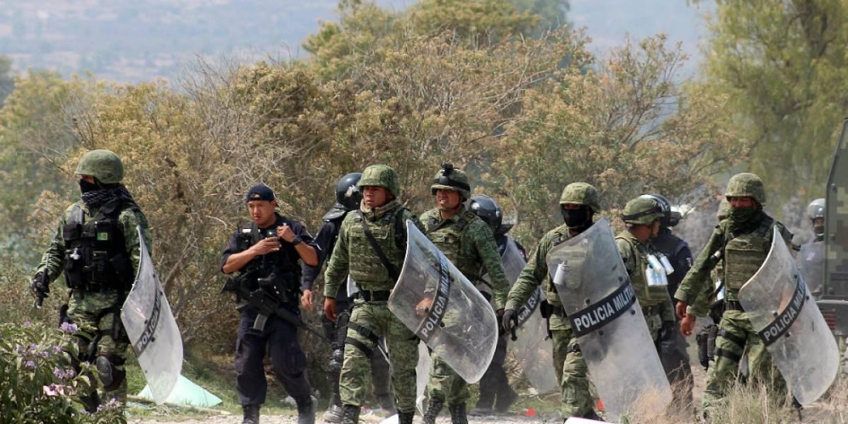 """Presuntos """"huachicoleros"""" disparan contra militares en Puebla"""