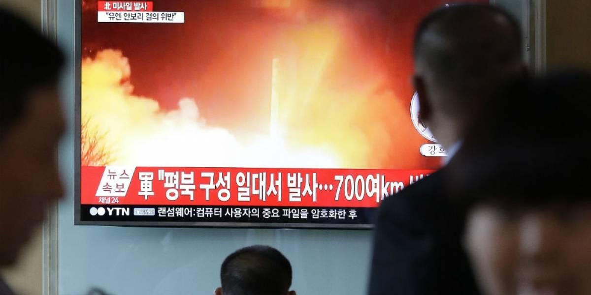 Norcorea se supera en tecnología de misiles