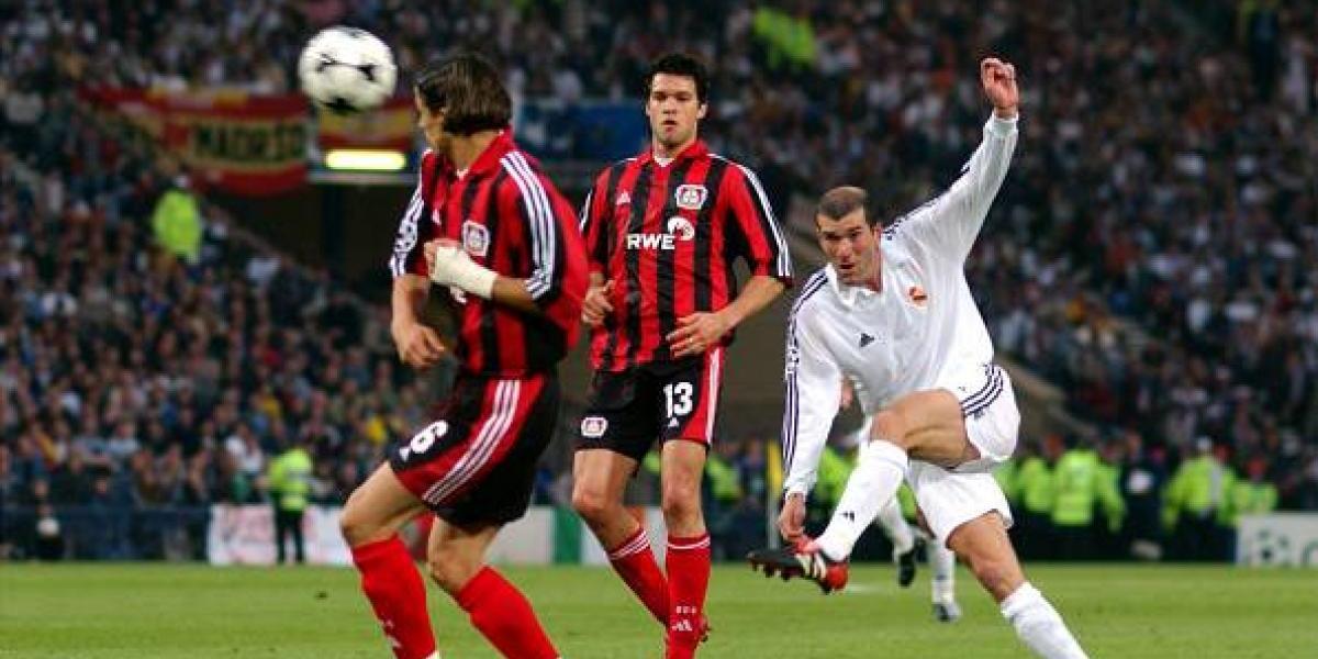 Zidane celebra 15 años de su golazo en la Champions
