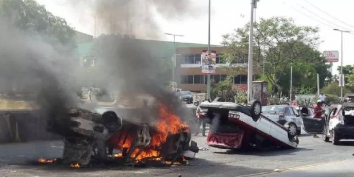 Al menos un muerto durante enfrentamiento entre transportistas en Oaxaca