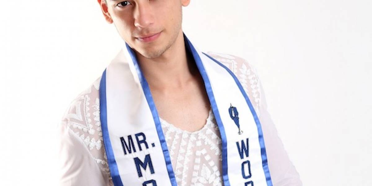 Mister Model World 2017 enamorado de Puerto Rico