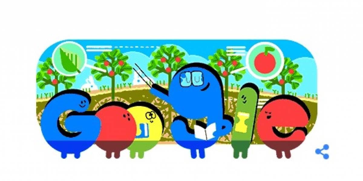 Google festeja el Día del Maestro en Doodle animado