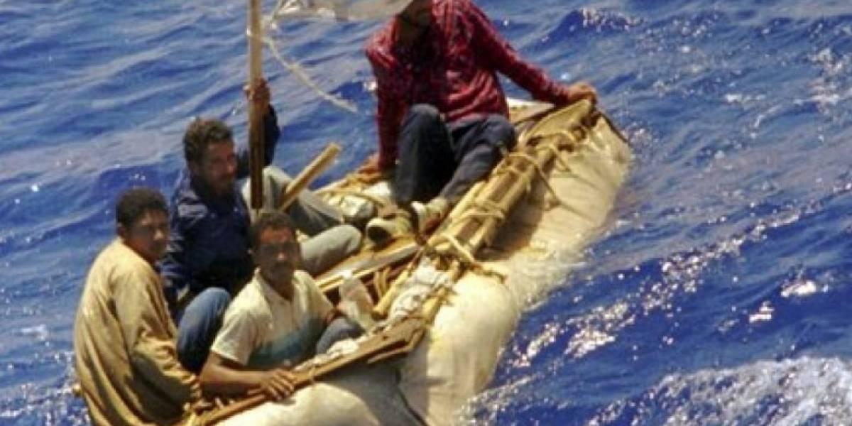 Menos cubanos son detenidos en altamar en ruta a EEUU