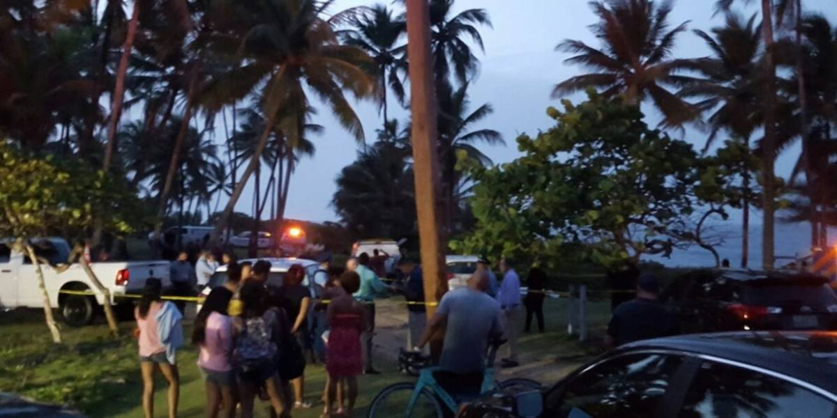 Identifican turistas ahogados en playa de Vega Alta