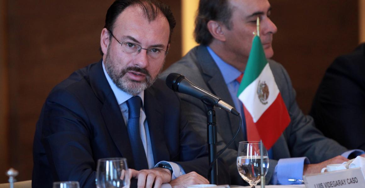Arrancan preparativos para renegociación del TLCAN: Videgaray