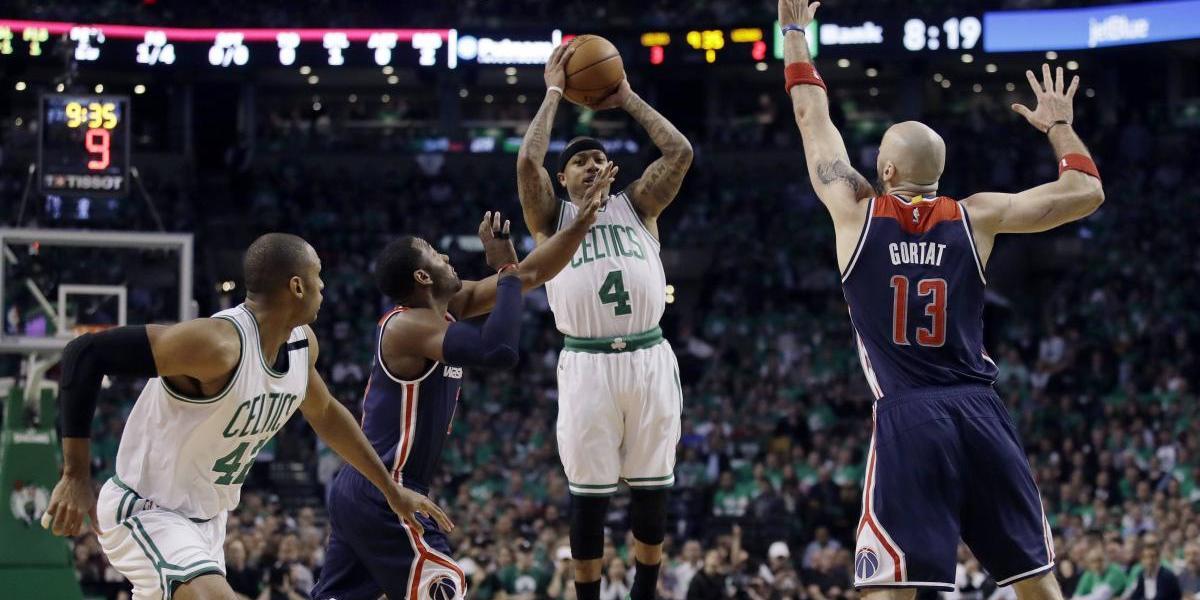 Celtics superan a Wizards en el séptimo juego