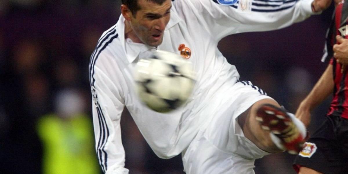 Se cumplen 15 años de la volea de Zinedine Zidane en la final de Glasgow