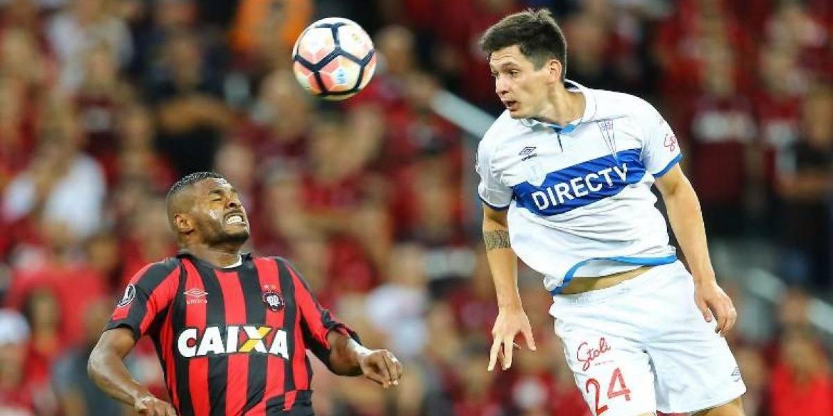La UC se juega el semestre y su futuro internacional en 2017 ante Atlético Paranaense