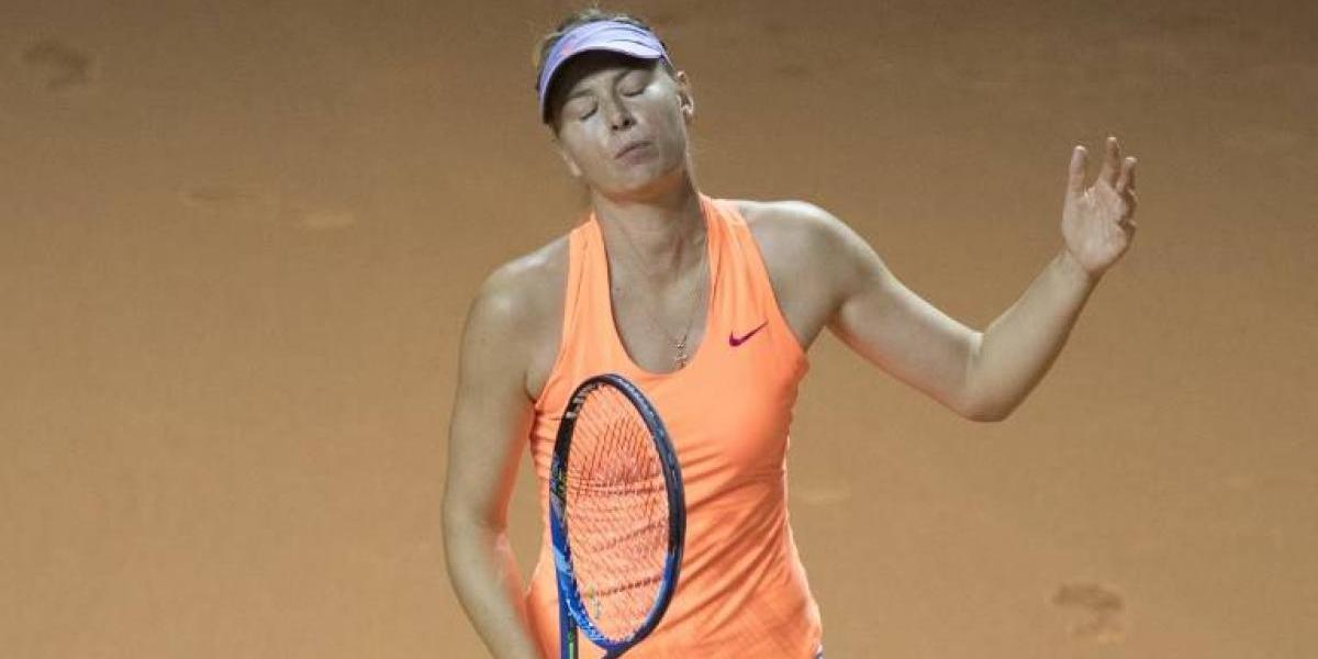 Maria Sharapova fue rechazada por Roland Garros y no jugará en París