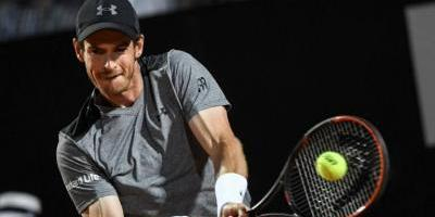 Debut y despedida para Andy Murray en el Masters de Roma