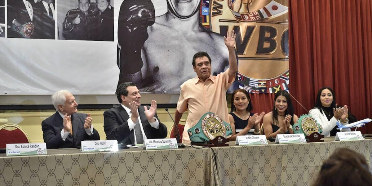 "CMB rinde homenaje al legendario Rubén ""Púas"" Olivares"