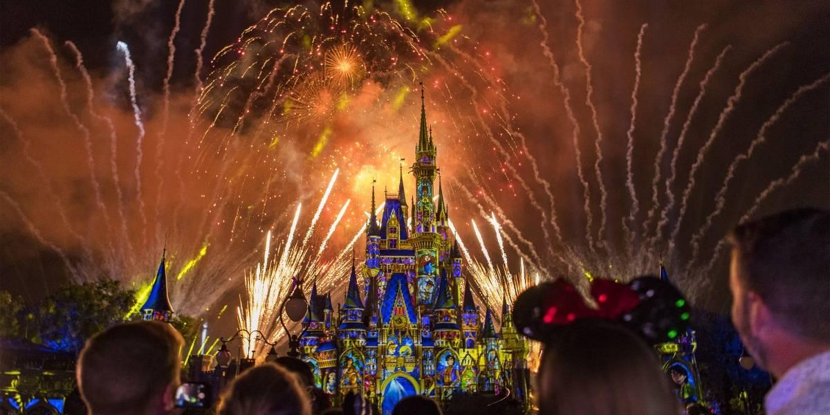 Y vivieron felices para siempre... el nuevo show de fuegos artificiales de Disney