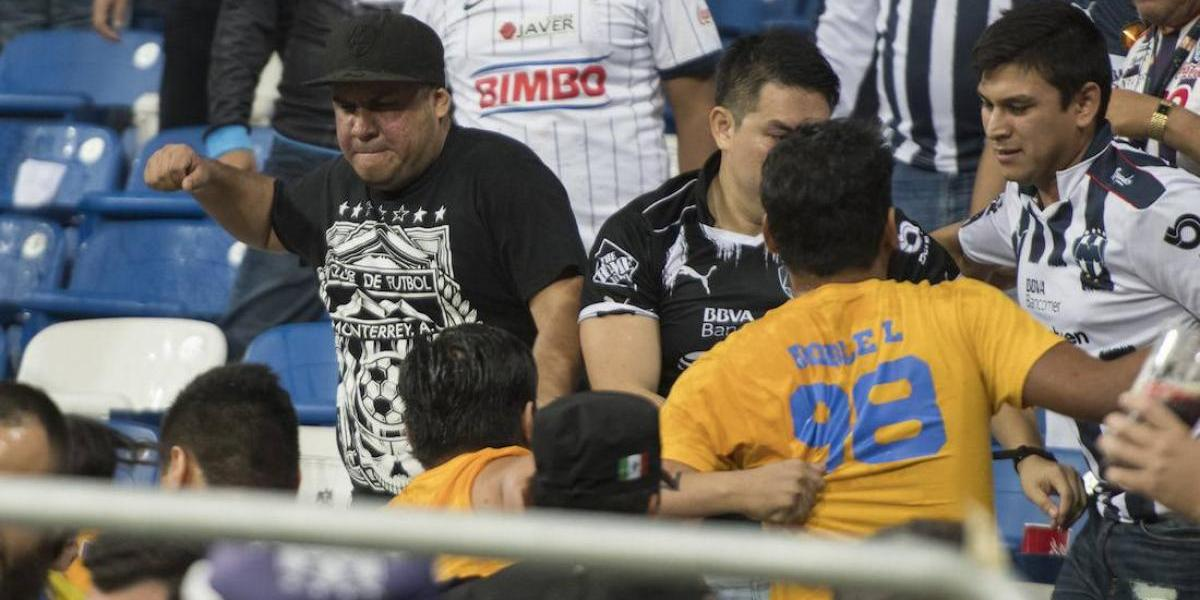 Rayados ya tiene identificados a los agresores del Clásico Regio
