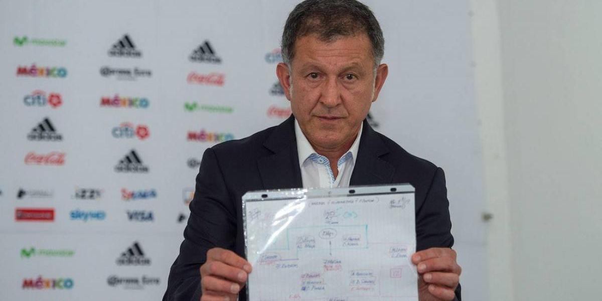 Juan Carlos Osorio da a conocer convocatoria del Tri de 32 jugadores