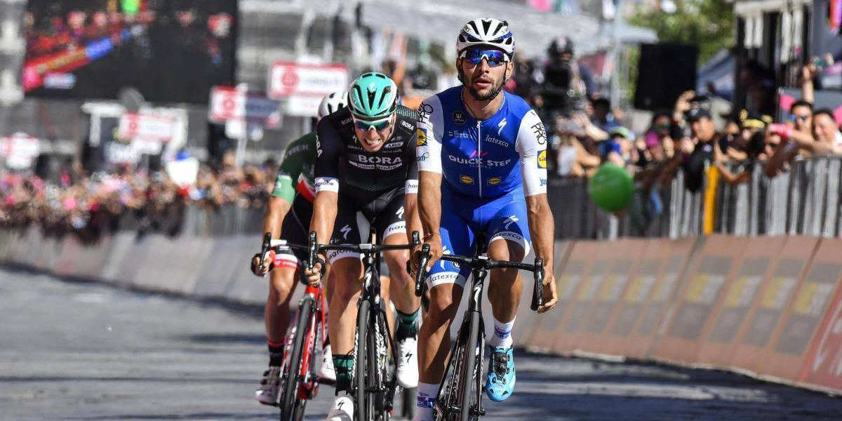 Así quedó Fernando Gaviria tras su caída en el Giro de Italia