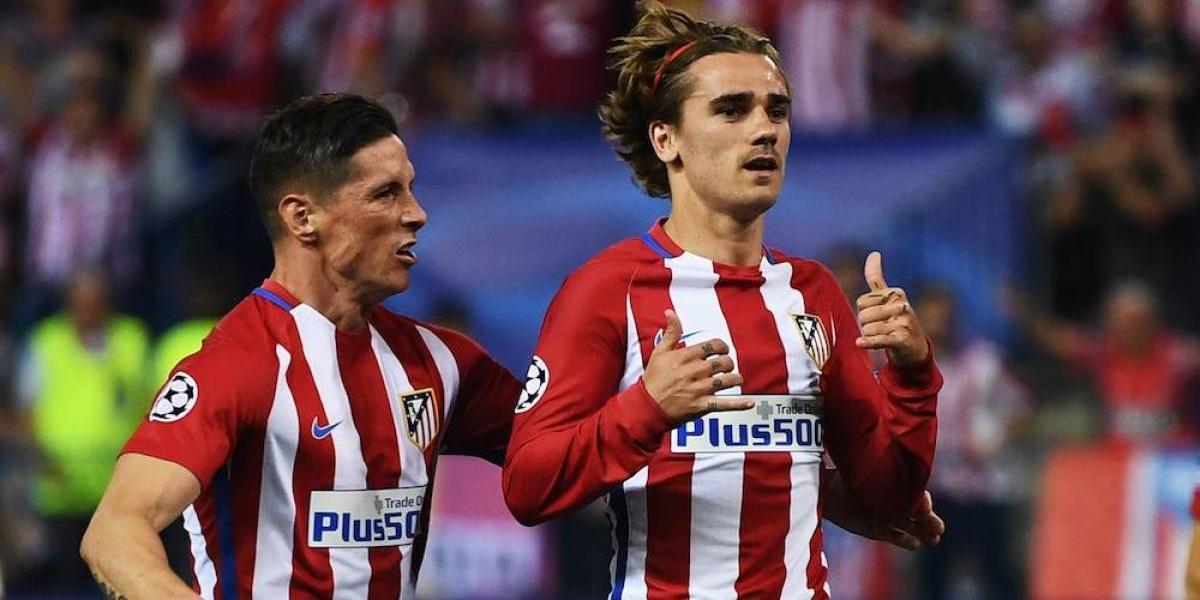 """Griezmann, """"Niño"""" Torres, Godín y Simeone, apadrinarán al San Luis"""