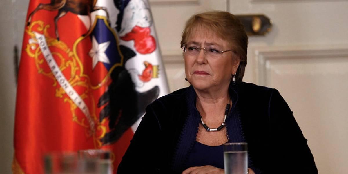 """Bachelet por acciones ante emergencia en el norte: """"Hemos avanzado rápido"""""""
