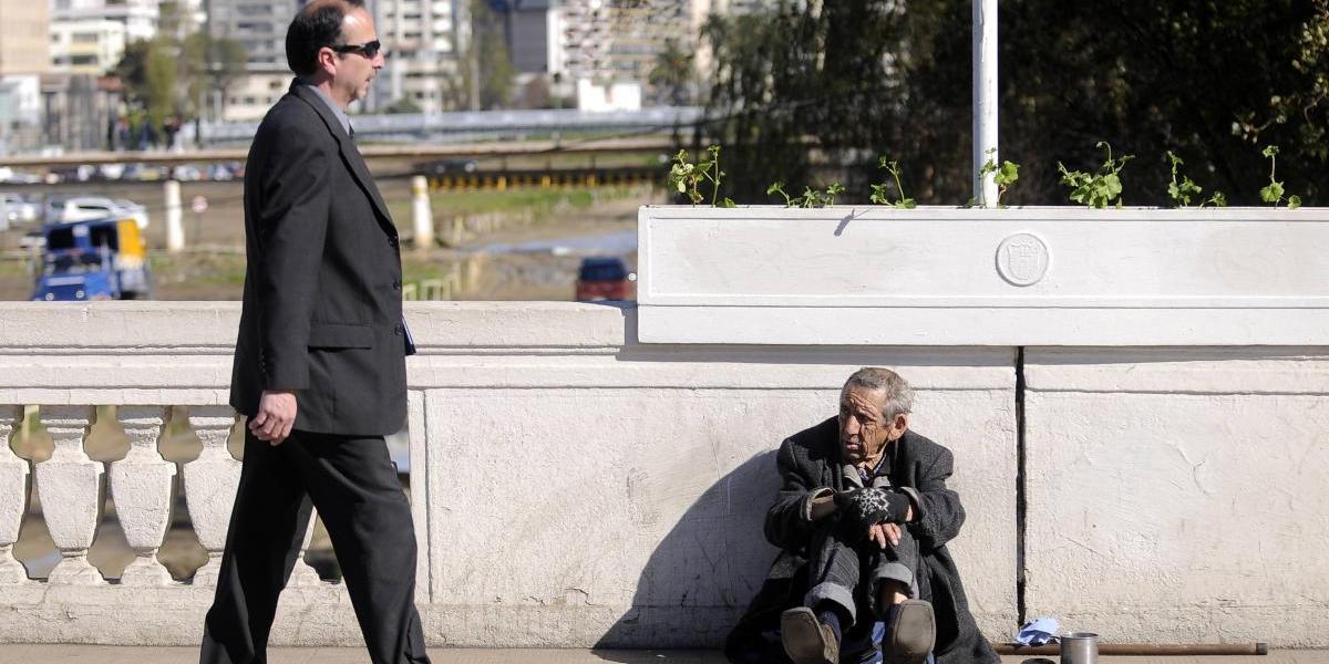La preocupante visión que los chilenos tienen de la pobreza