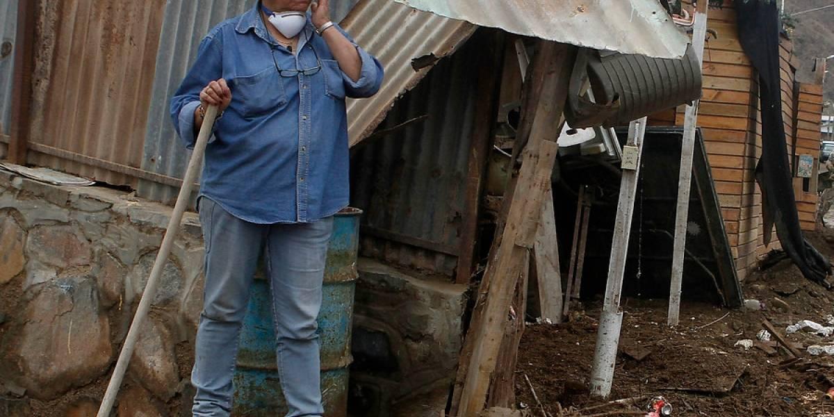 Onemi y emergencia en el norte: 1.195 damnificados y más de 300 casas dañadas