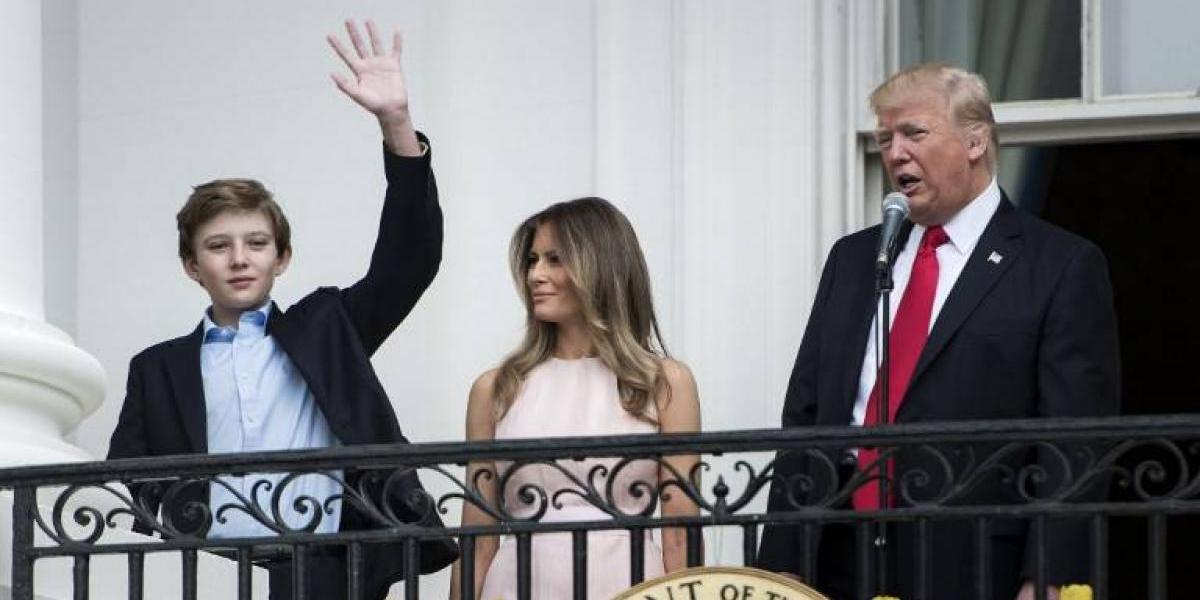 Melania y el menor del clan Trump acceden vivir en la Casa Blanca pero a un alto precio