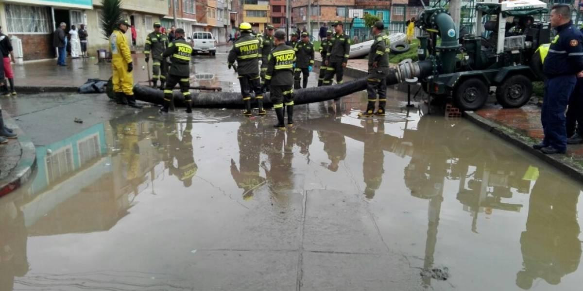 Bogotá y Soacha están con el agua al cuello