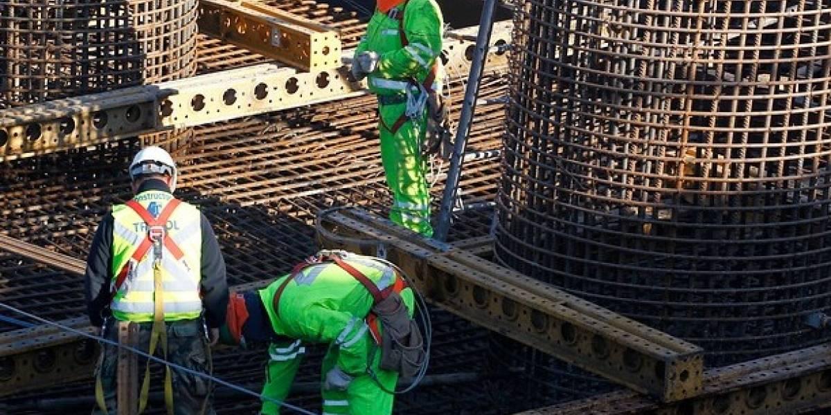 INE: ventas en sector construcción bajaron 8,3% en primer trimestre de 2017