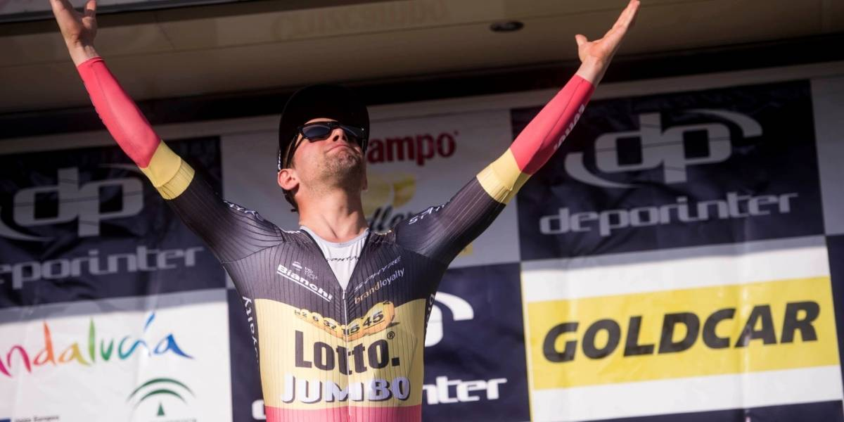 Victor Campenaerts propuso cita en medio de la contrarreloj del Giro 2017
