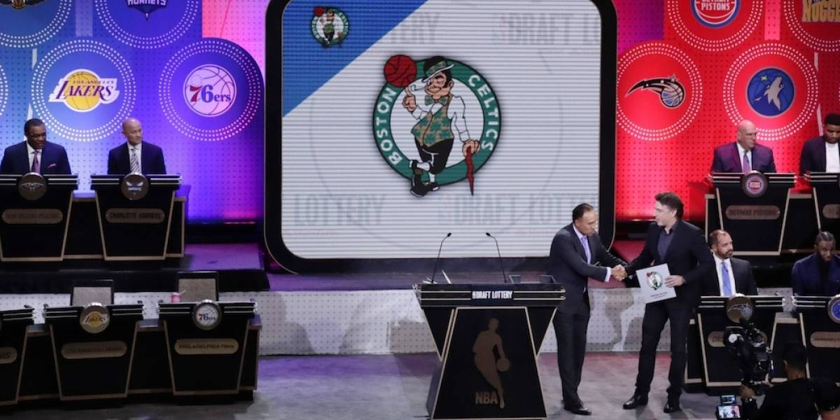 Celtics elegirán primero en el próximo Draft de la NBA