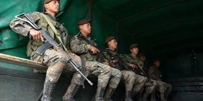 Vecinos en silencio por militarización