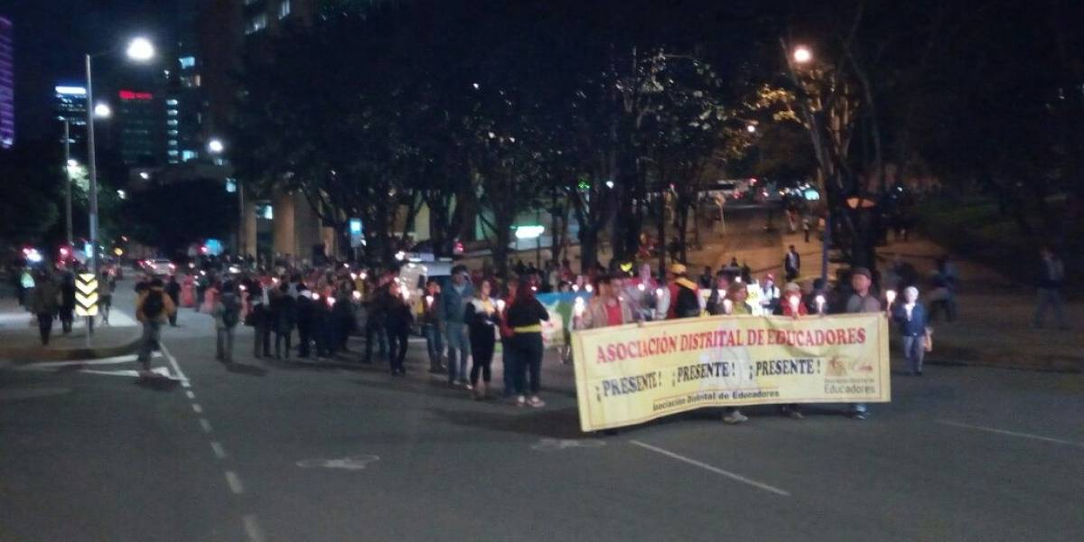 ¡Atención! Manifestación de FECODE en la Plaza de Toros