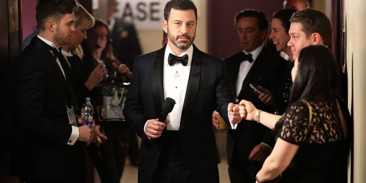 Jimmy Kimmel repetirá como presentador en premios Oscar
