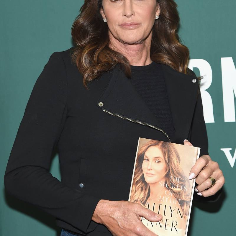 "Caitlyn Jenner Signs Copies Of Her New Book ""The Secrets of My Life"""
