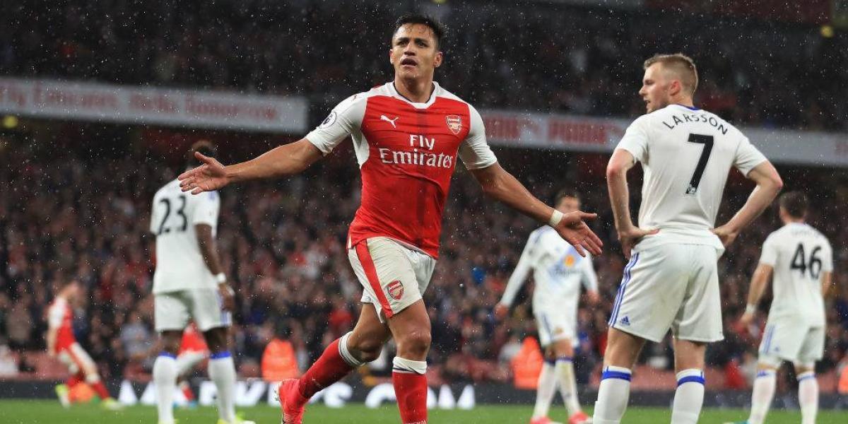 """Los """"goles de goleador"""" de Alexis Sánchez que llena de ilusión a Arsenal"""