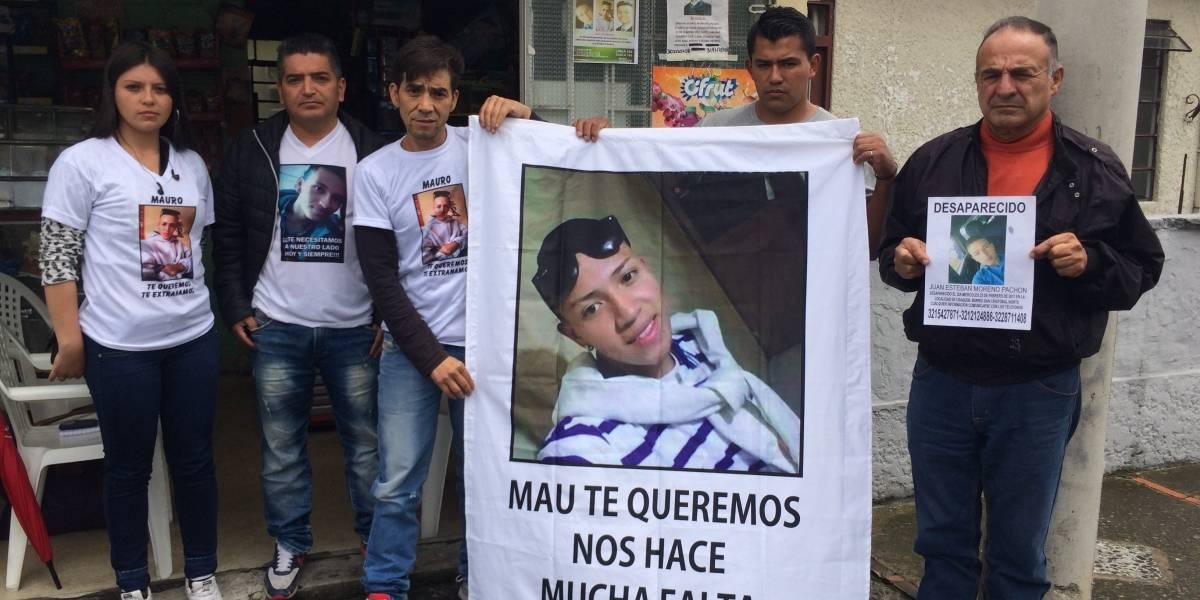 """""""Queremos saber dónde están nuestros hijos"""": Germán Montaña"""