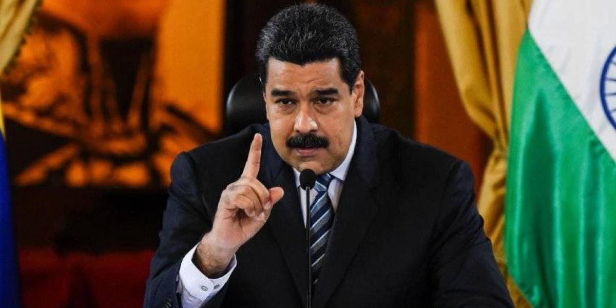 """Maduro calificó de """"insolente"""" la sanción de EEUU contra funcionarios y ex funcionarios chavistas"""