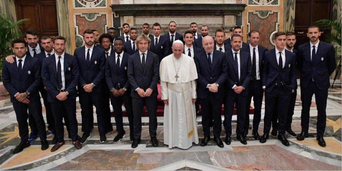 La petición que el Papa Francisco le hizo a la Juventus y al Lazio