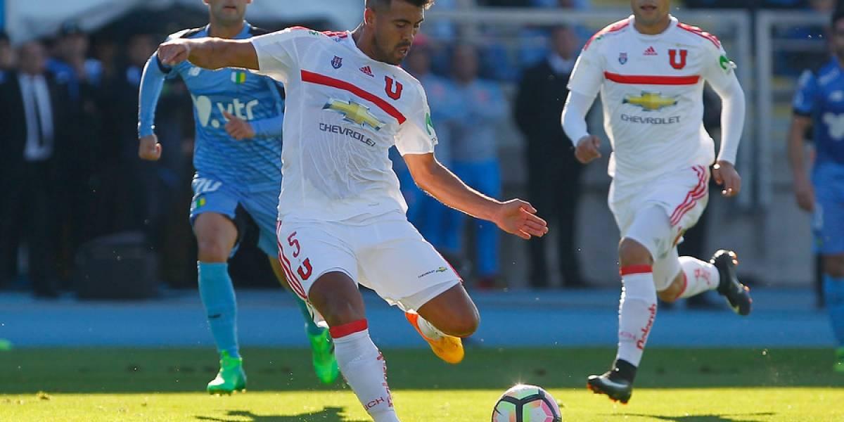 Gonzalo Espinoza recibió una fecha de castigo y se perderá decisivo duelo de la U ante San Luis