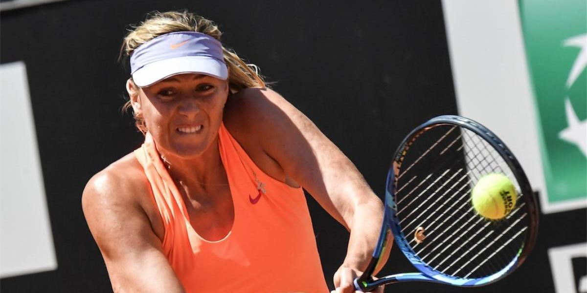 Maria Sharapova recibe una pésima noticia que trunca sus sueños