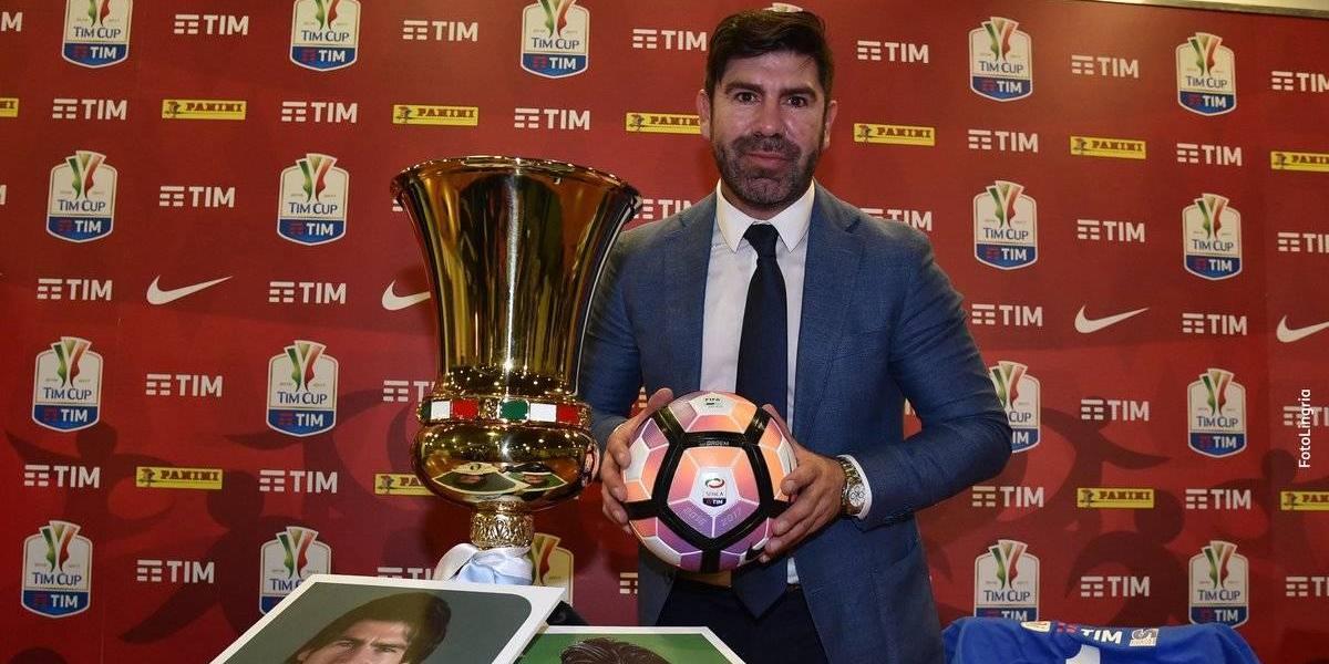 """Marcelo Salas como embajador de la final de la Copa Italia: """"Los tifosi aún me dan su cariño"""""""