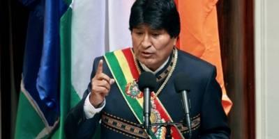 Evo increpa a Almagro por no hablar de México