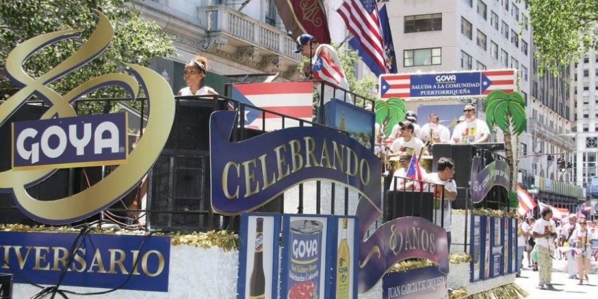 Goya reacciona a su retiro del desfile puertorriqueño