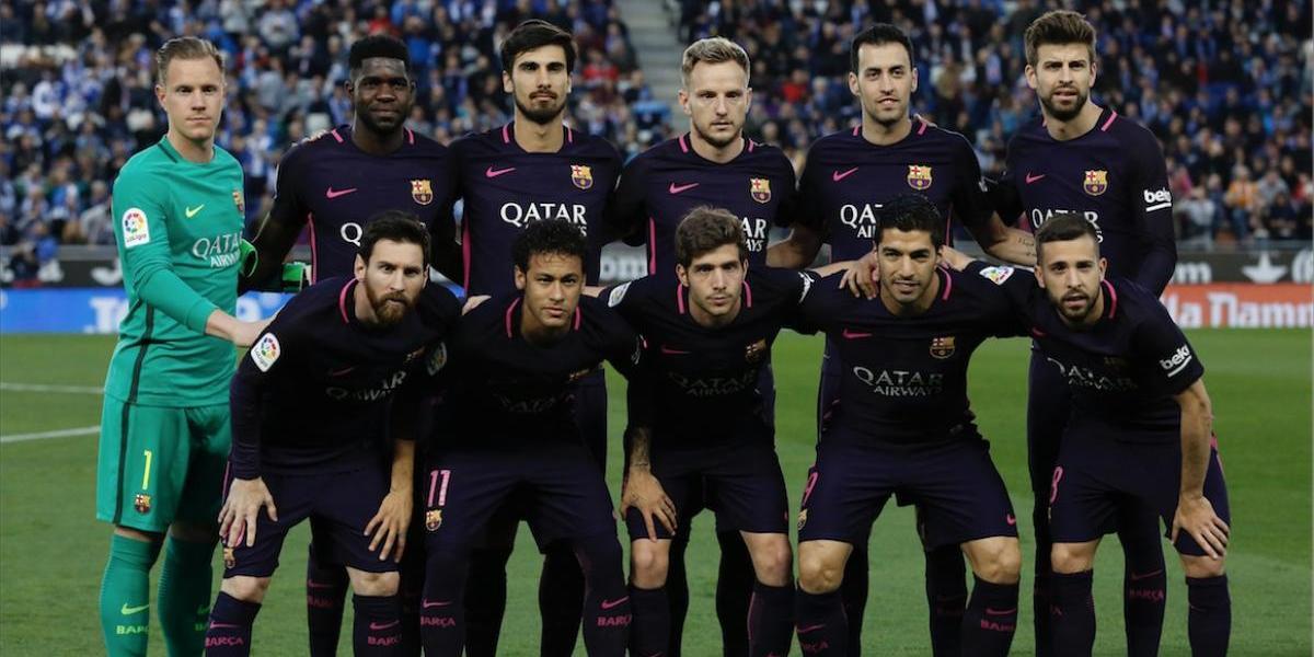 Jugador del Barça se casa y comparte romántica foto en Instagram