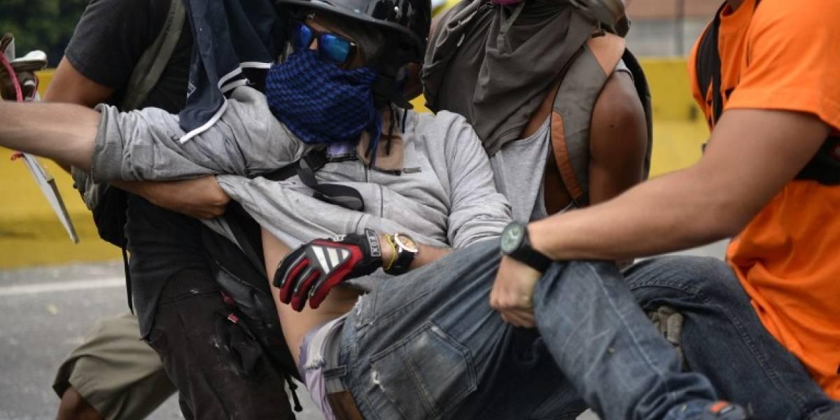 Muere un hombre en manifestación en Venezuela