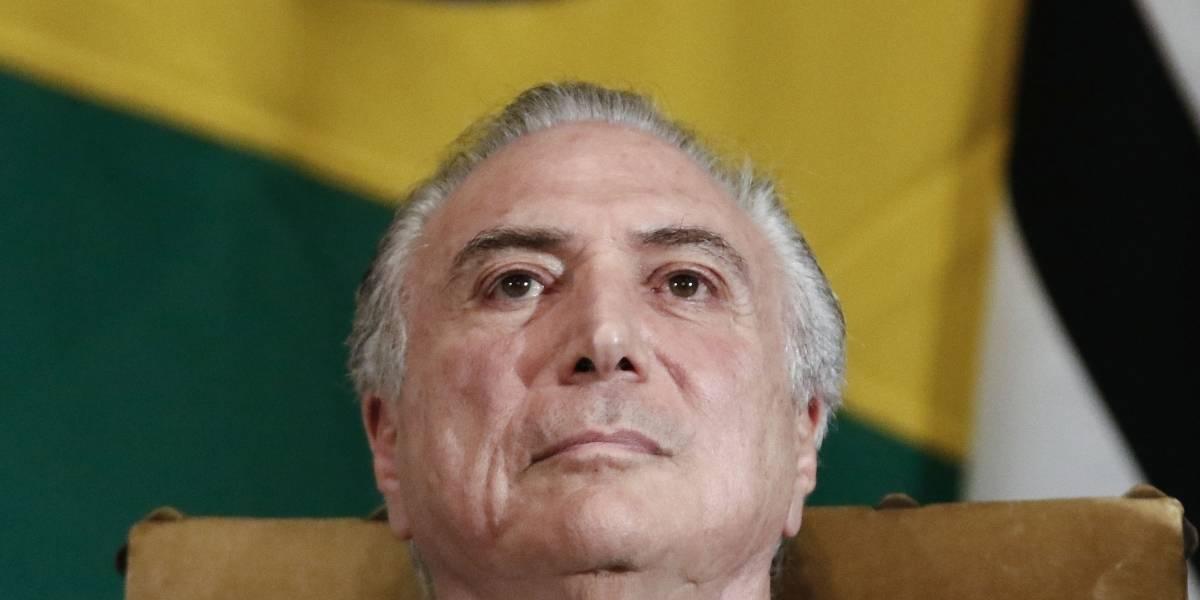 Presidente de Brasil es grabado dando luz verde a sobornos