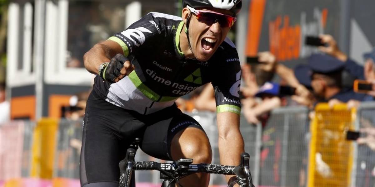 El español Omar Fraile ganó la 11ª etapa del Giro de Italia